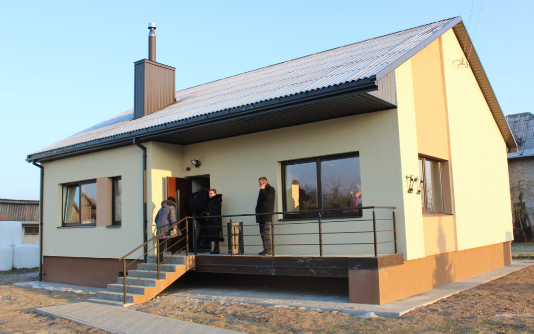 Bendruomenės centro patalpų atidarymas