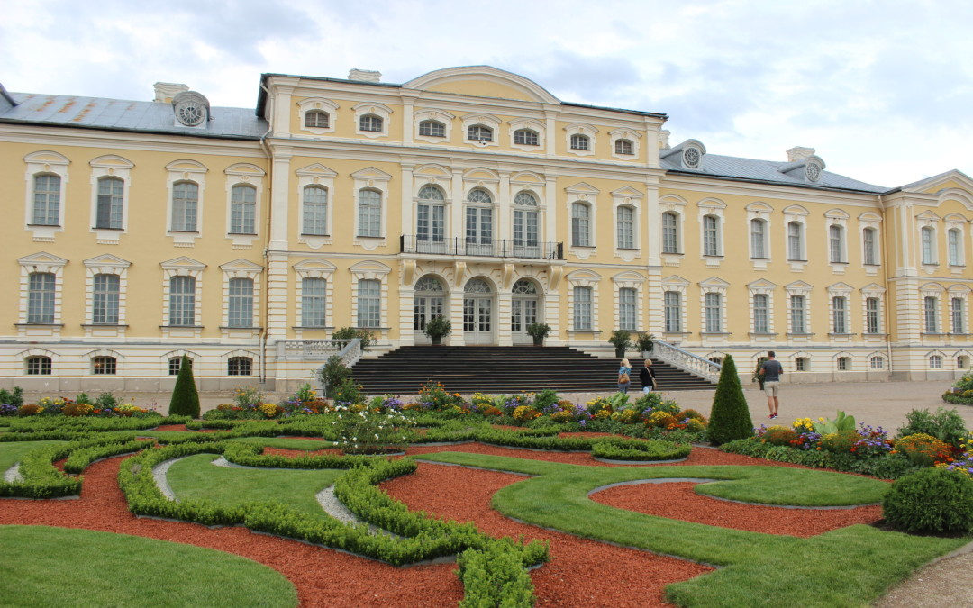 Kelionė į Latviją: Rundalė