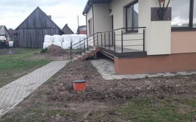 Darbai Juragių bendruomenės centre (drenazo renovacija)