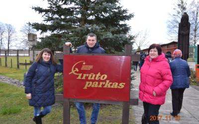Garliavos apylinkių bendruomenės narių kelionė į Dzūkijos kraštą: Grūto parkas