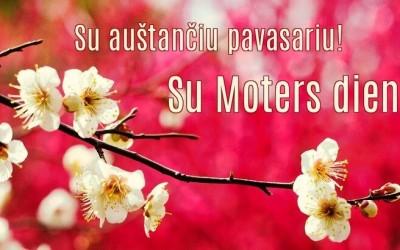 Sveikinimas Moterims su Tarptautine Moters diena