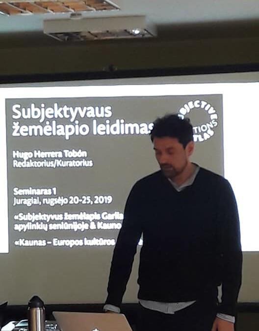 Menininkas Hugo Terrera Tobon Juragiuose